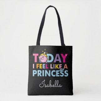 Bolsa Tote Senhorita pequena princesa | que eu sinto como uma