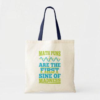 Bolsa Tote Seno das chalaças da matemática da loucura! O