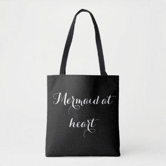 Bolsa Tote Sereia no coração