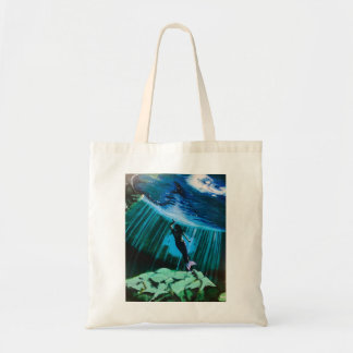 Bolsa Tote Sereia subaquática pela sacola de John Fermin