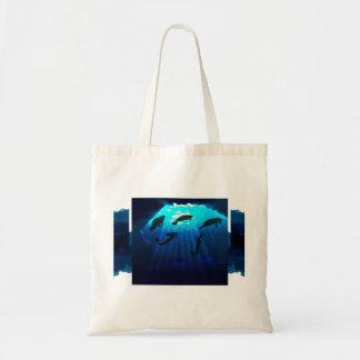 Bolsa Tote Sereias e peixes-boi