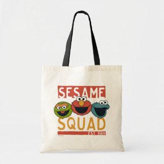 Bolsa Tote Sesame Street - pelotão do sésamo