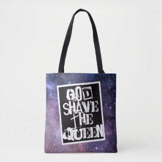 Bolsa Tote Shave do deus o SB da rainha