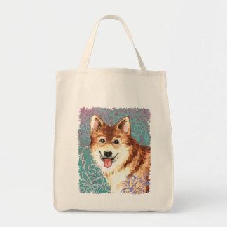 Bolsa Tote Sheepdog islandês elegante