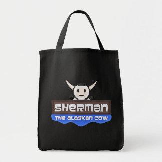 Bolsa Tote Sherman a sacola do Alasca da vaca