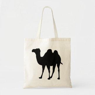 Bolsa Tote Silhueta do camelo