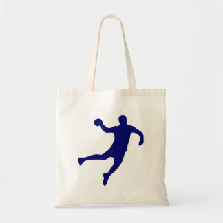 Bolsa Tote Silhueta do handball