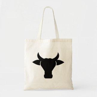 Bolsa Tote Silhueta principal da vaca