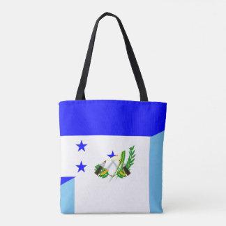 Bolsa Tote símbolo da bandeira do país de honduras guatemala