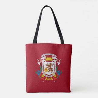 Bolsa Tote símbolo de venezuela da bandeira da cidade de