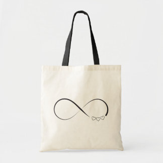 Bolsa Tote Símbolo dos corações da infinidade