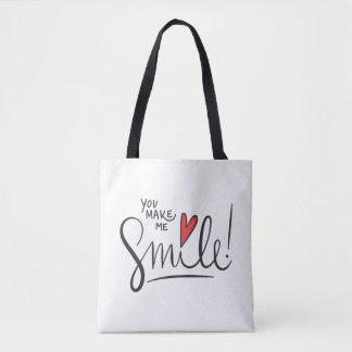 Bolsa Tote Simples contudo bonito você faz-me a sacola do