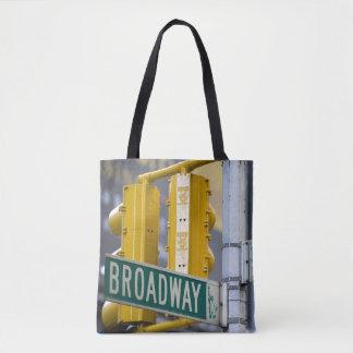Bolsa Tote Sinal de Broadway