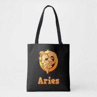 Bolsa Tote Sinal do zodíaco do Aries