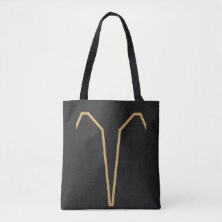 Bolsa Tote Sinal do zodíaco do Aries básico