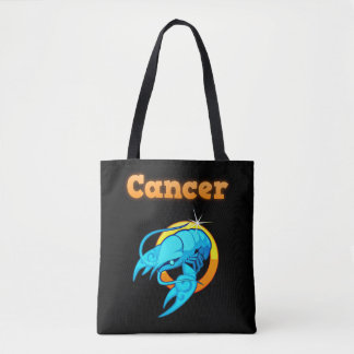 Bolsa Tote Sinal do zodíaco do cancer