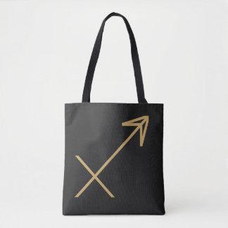 Bolsa Tote Sinal do zodíaco do Sagitário básico