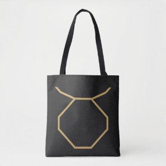 Bolsa Tote Sinal do zodíaco do Taurus básico