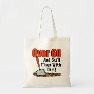 Bolsa Tote Sobre 60 jogos com sacola da sujeira