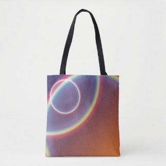 Bolsa Tote Sobre a sacola do arco-íris
