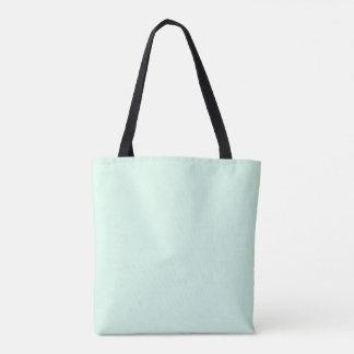 Bolsa Tote Somente cor sólida pastel bonito verde OSCB12 da