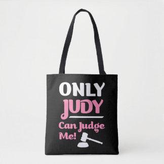 Bolsa Tote Somente Judy pode julgar-me saco engraçado