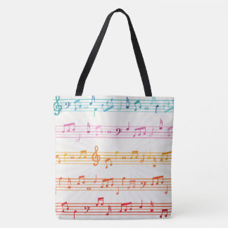 Bolsa Tote Sons do saco da música