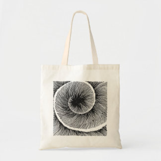 Bolsa Tote Spiral Pattern Shell hypnotic