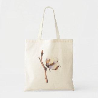 Bolsa Tote Sprig do algodão macio