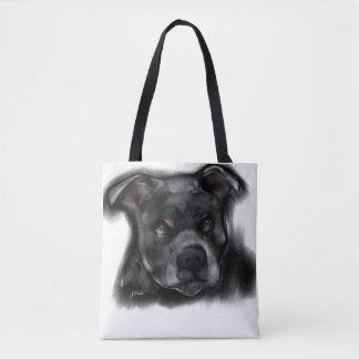 Bolsa Tote Staffordshire Terrier americano