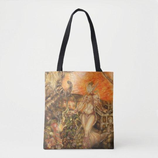 Bolsa Tote Steampunk Journey Bag