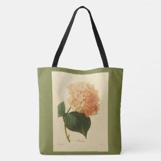 Bolsa Tote Stylish-Vintage-Botanical-Art_Peach-Grass-Green