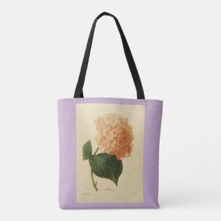 Bolsa Tote Stylish-Vintage-Botanical-Art_Peach-Lavender