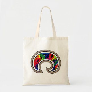 Bolsa Tote Sul - sacola americana do arco-íris