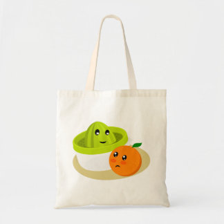 Bolsa Tote Sumo de laranja (laranja e Squeezer)