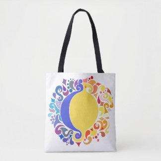 Bolsa Tote Sun e sacola da lua