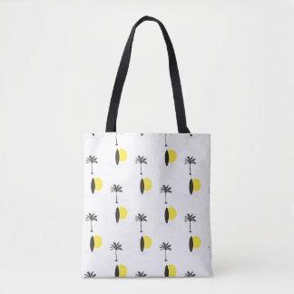 Bolsa Tote Sun, prancha, e sacola da palma