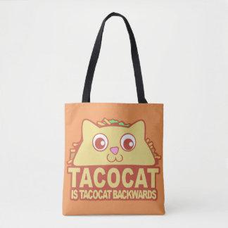 Bolsa Tote Tacocat para trás II