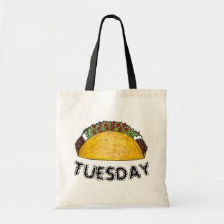 Bolsa Tote Tacos Foodie da comida de Tex Mex do mexicano de