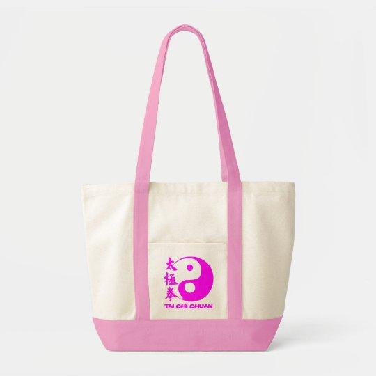 Bolsa Tote Tai Chi Bag Pink