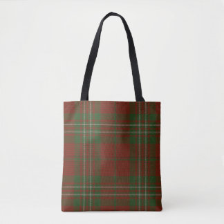 Bolsa Tote Tartan do clã de Scott