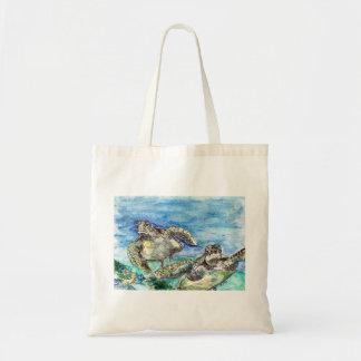 Bolsa Tote Tartarugas de mar