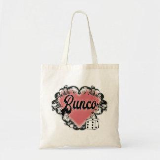Bolsa Tote tatuagem do coração do bunco