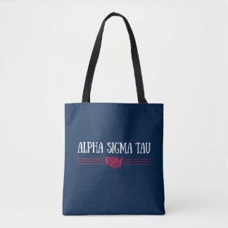 Bolsa Tote Tau alfa EUA do Sigma