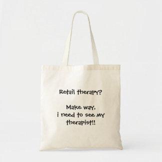 Bolsa Tote Terapia de varejo