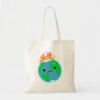 Bolsa Tote Terra no fogo
