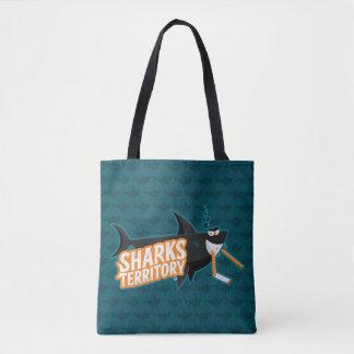 Bolsa Tote Território dos tubarões - sacola