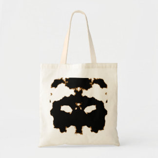 Bolsa Tote Teste de Rorschach de um cartão da mancha da tinta
