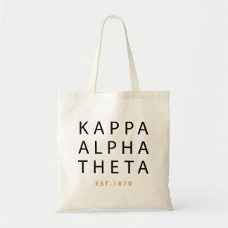 Bolsa Tote Teta alfa | Est do Kappa. 1870