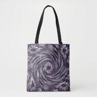 Bolsa Tote Textura abstrata do redemoinho